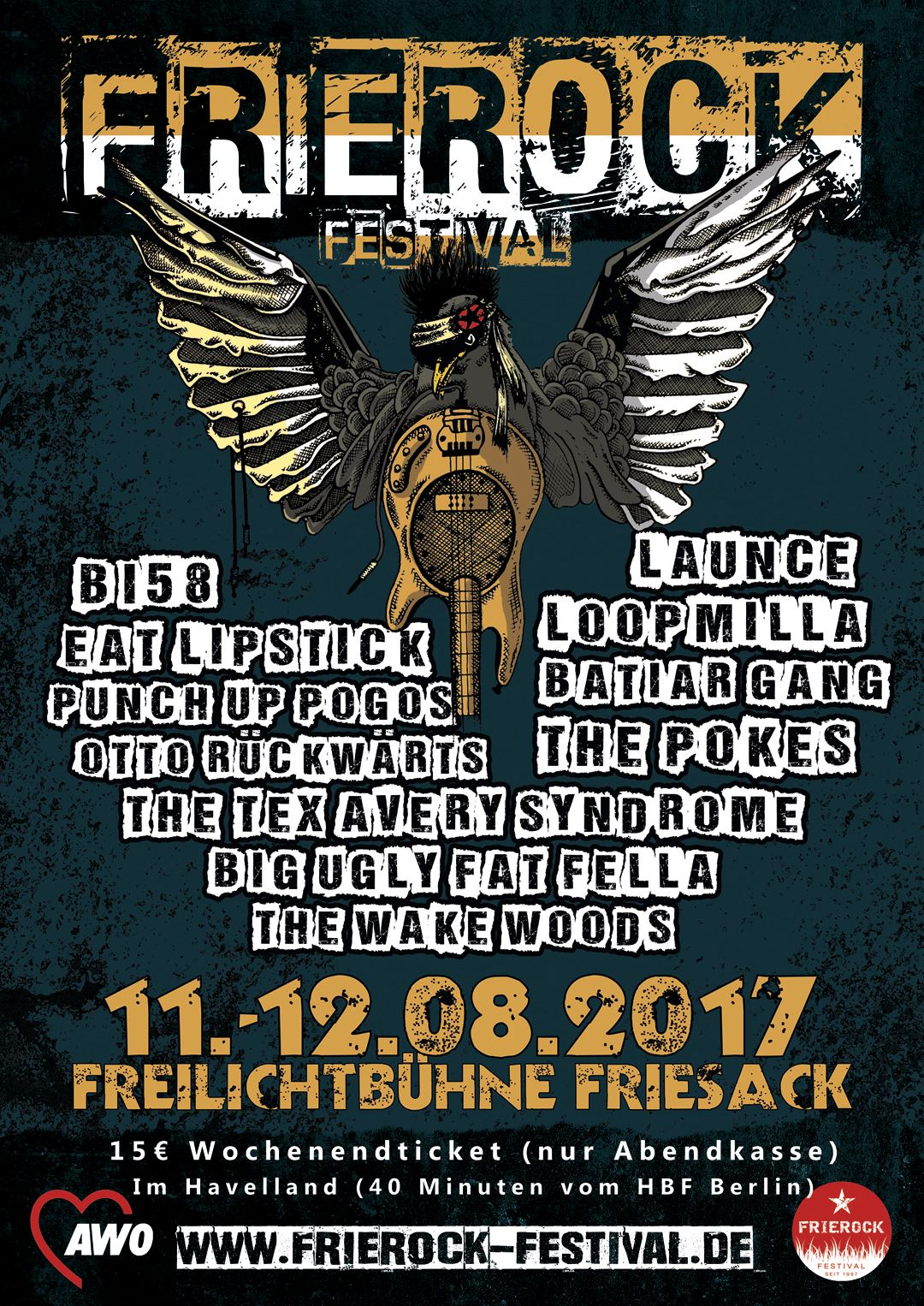 Launce live als Headliner auf dem Frierockfestival