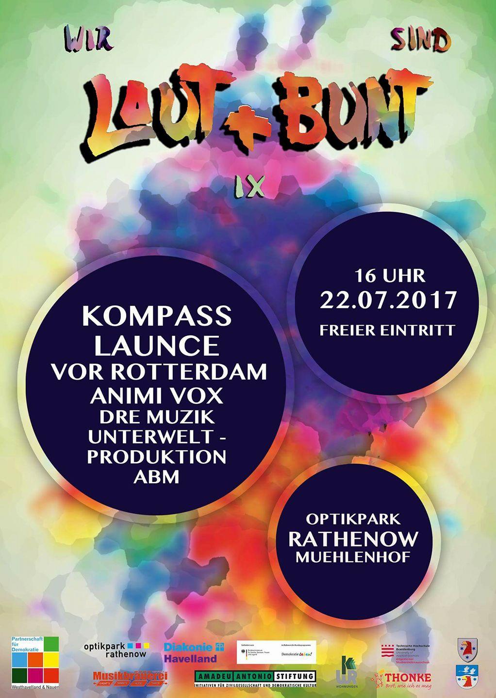 Laut und Bunt Festival 2017 Launce Live