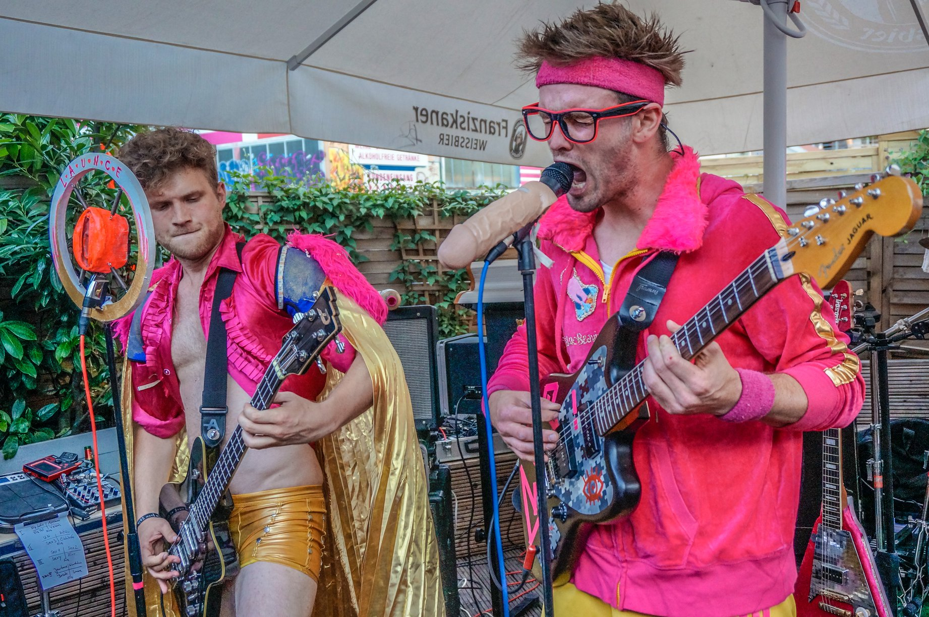 Feté de la musique 2018 Launce Band Live Bar zum schmutzigen Hobby